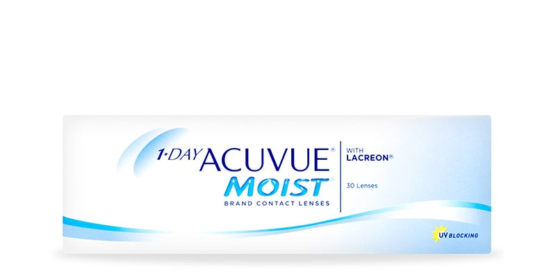 1-DAY ACUVUE® MOIST MULTIFOCAL, 30 pack main image