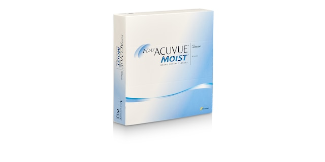 1-DAY ACUVUE® MOIST, 90 pack $84.99