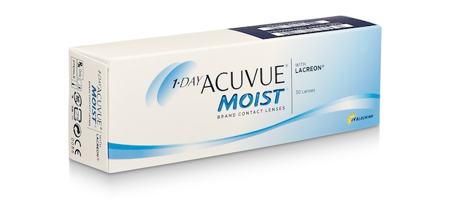 1-DAY ACUVUE® MOIST, 30 pack $41.99