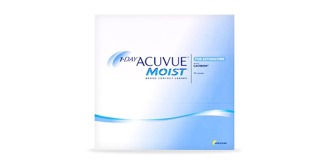 1-DAY ACUVUE® MOIST for ASTIGMATISM, 90 pack $102.99