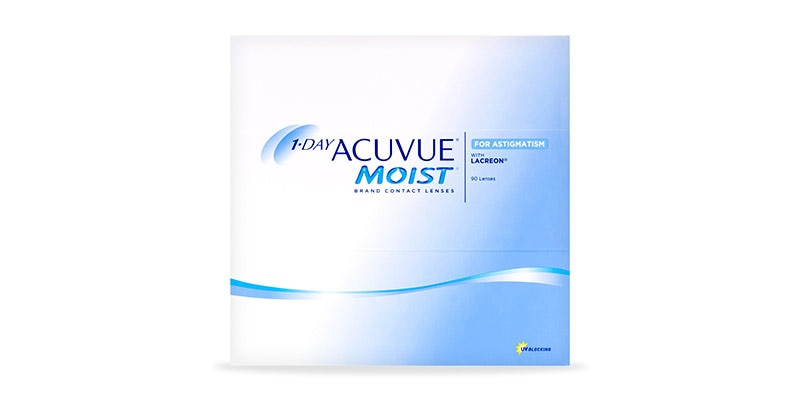 1-DAY ACUVUE® MOIST FOR ASTIGMATISM - 90 PACK main image