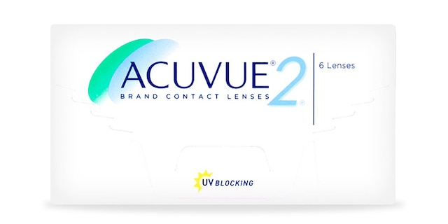 ACUVUE® 2 Brand Contact Lenses, 2-Week, 6-Pack $35.99