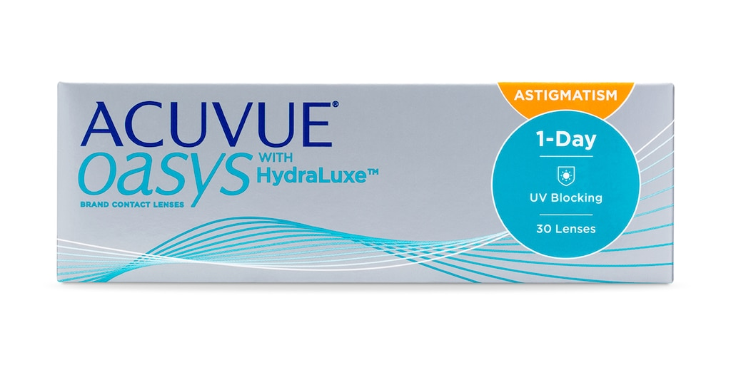 ACUVUE OASYS® 1-Day for ASTIGMATISM, 30 pack main image
