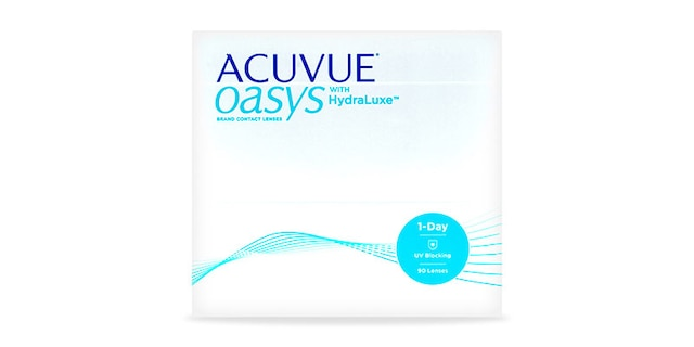 ACUVUE OASYS® 1-Day with HydraLuxe™ Technology, 90 pack $104.99