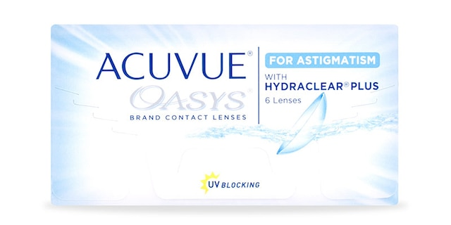 ACUVUE OASYS® for ASTIGMATISM, 6 pack $56.99