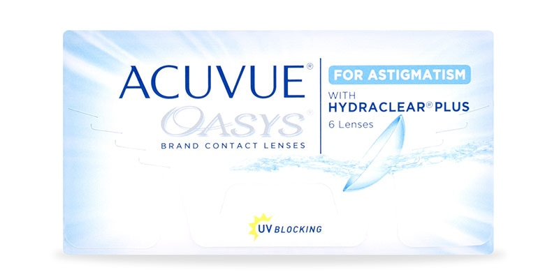 ACUVUE OASYS® for ASTIGMATISM, 6 pack main image