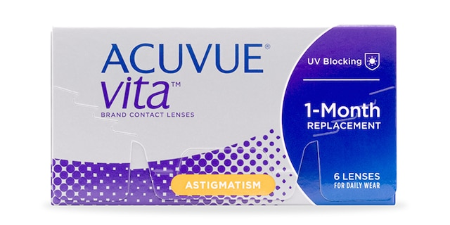 ACUVUE® VITA for ASTIGMATISM, 6 pack $74.99