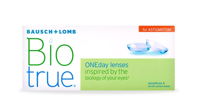 Biotrue Oneday For Astig 30pk $38.99