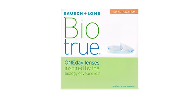 Biotrue Oneday For Astig 90pk $91.99