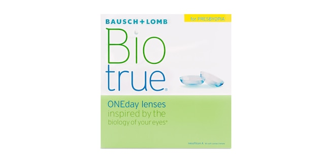 Biotrue ONEDay for Presbyopia 90 Pack $109.99