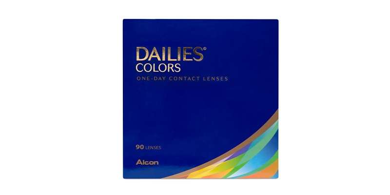 DAILIES® COLORS 90 PACK main image