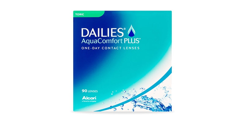DAILIES® AQUACOMFORT PLUS® TORIC -  90 PACK main image
