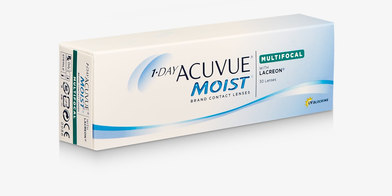 1-DAY ACUVUE® MOIST MULTIFOCAL, 30 pack Contact Lenses