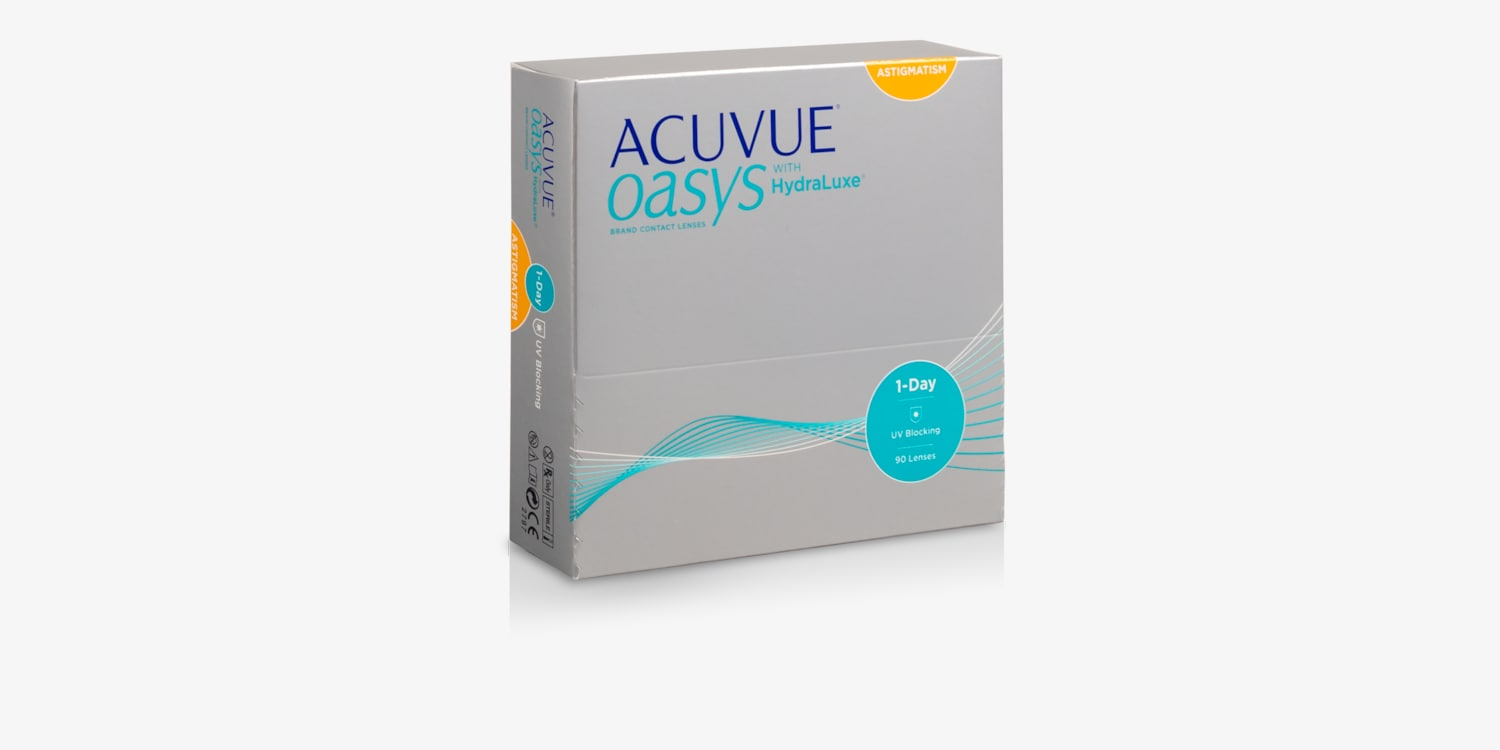 Acuvue Oasys 1-Day for Asigmatism 90 Pack Contact Lenses