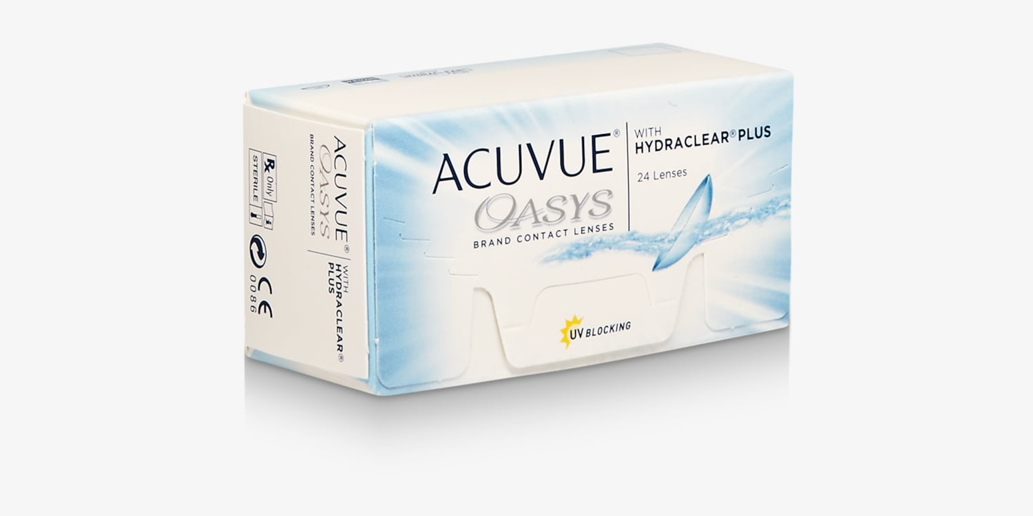 ACUVUE OASYS® with HYDRACLEAR® PLUS Technology, 24 pack Contact Lenses