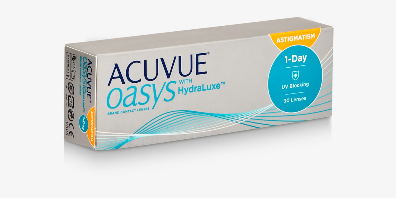 ACUVUE OASYS® 1-Day for ASTIGMATISM, 30 pack Contact Lenses