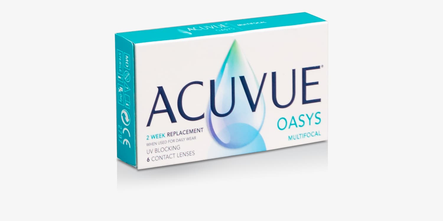 ACUVUE® OASYS Multifocal - 6 Pack Contact Lenses
