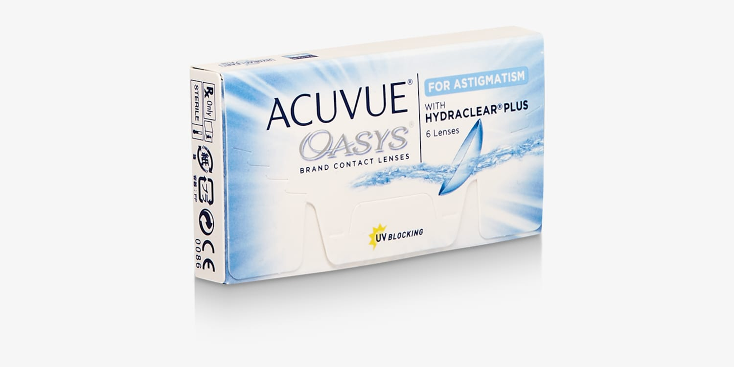 ACUVUE OASYS® for ASTIGMATISM, 6 pack Contact Lenses