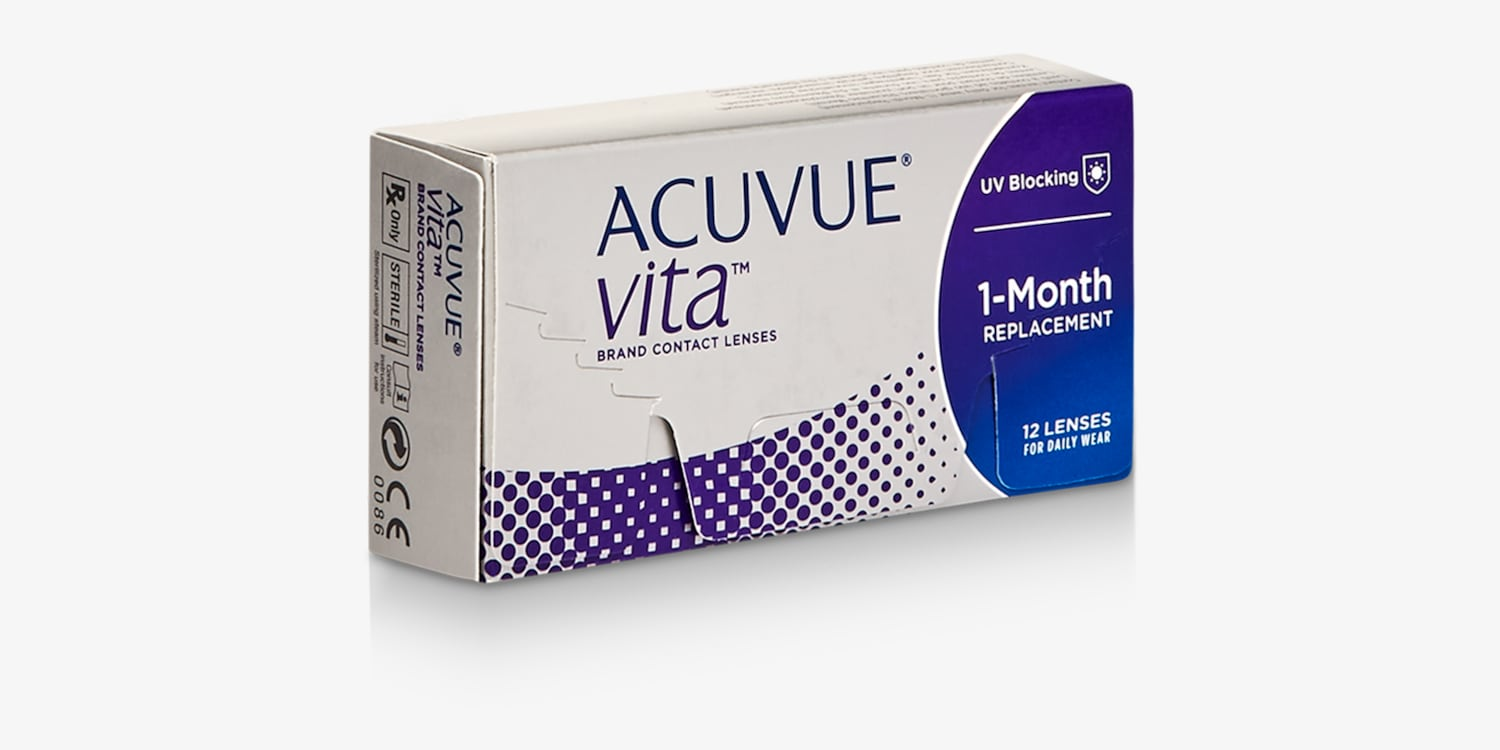 ACUVUE© VITA 12 PACK Contact Lenses