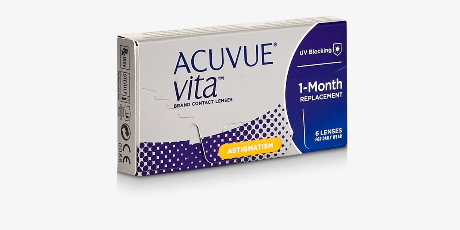 ACUVUE® VITA for ASTIGMATISM, 6 pack Contact Lenses