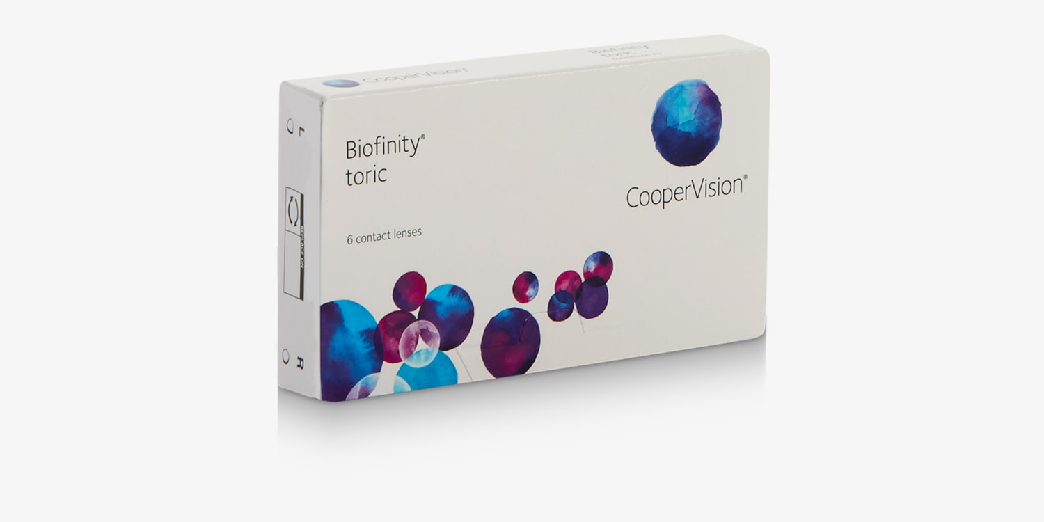 Biofinity Toric - 6 Pack Contact Lenses