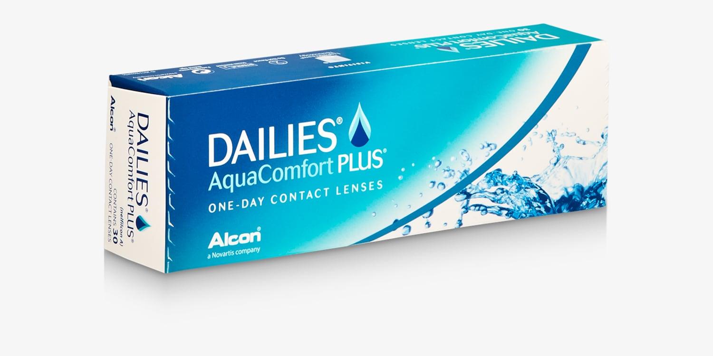 DAILIES® AquaComfort Plus® - 30 Pack Contact Lenses