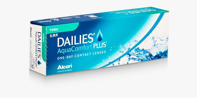 DAILIES® AQUACOMFORT PLUS® TORIC - 30 PACK Contact Lenses