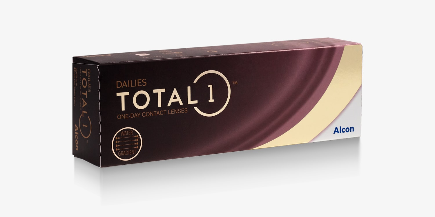 DAILIES TOTAL1® - 30 Pack Contact Lenses