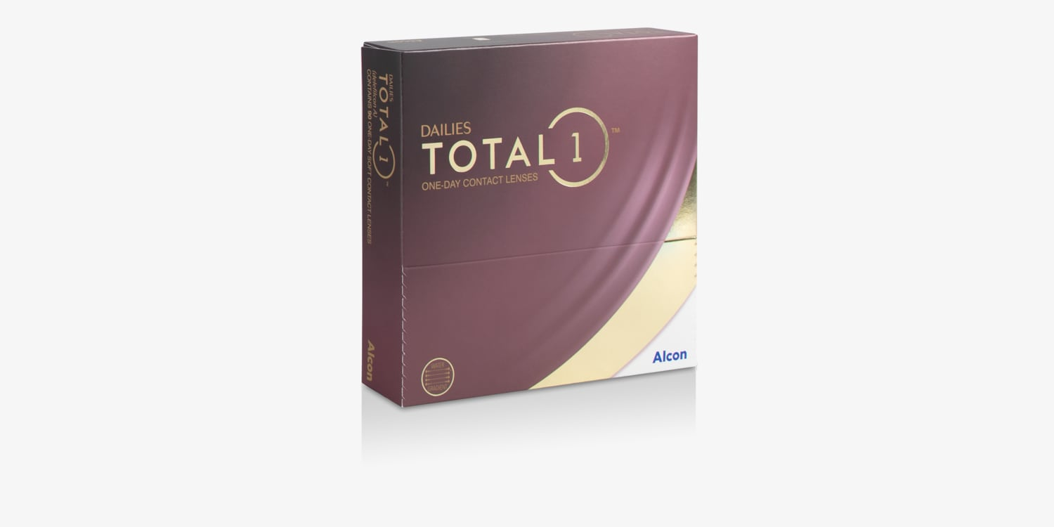DAILIES TOTAL1® - 90 Pack Contact Lenses
