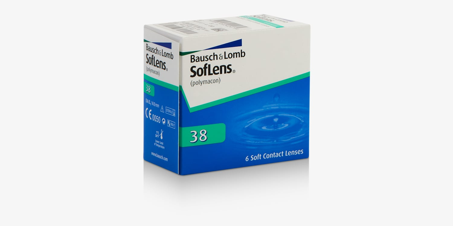 SofLens 38 - 6 Pack Contact Lenses