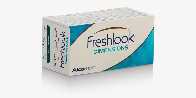 FreshLook® DIMENSIONS -  Paquete de 6 lentes de contacto