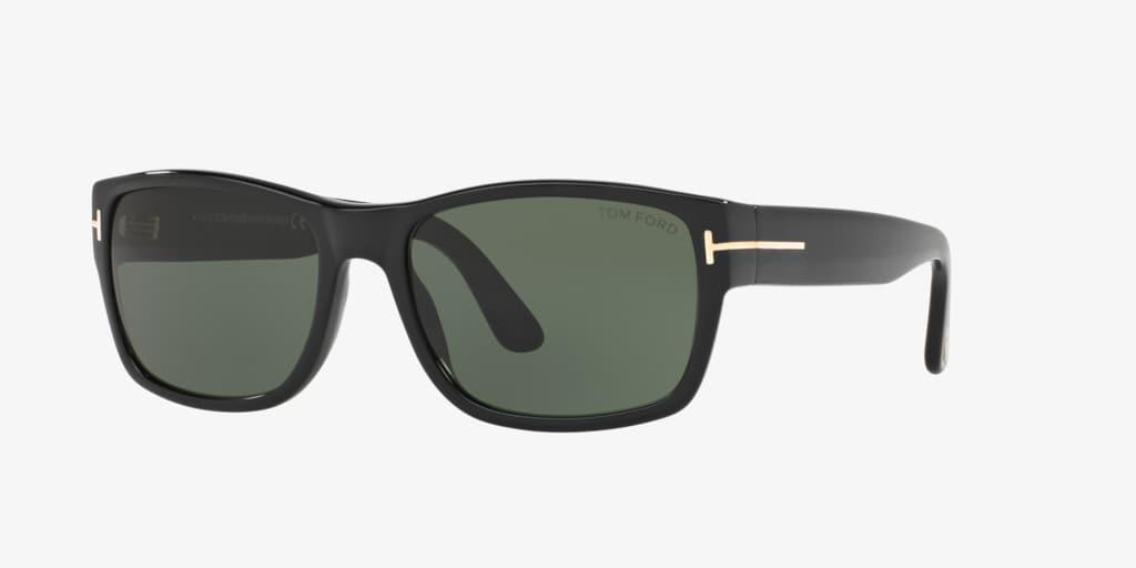 Tom Ford FT0445 MASON 58 Black Sunglasses