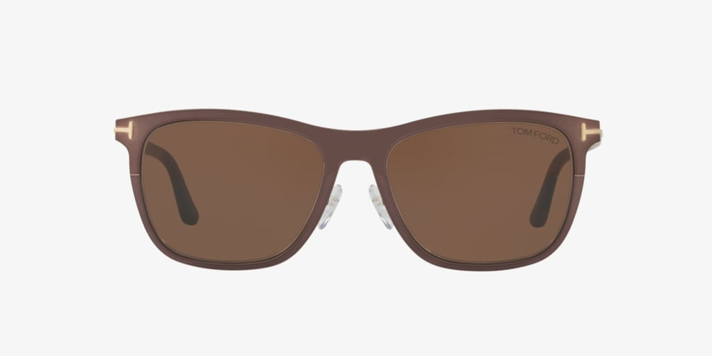 Tom Ford ALASDHAIR 55 Brown Sunglasses