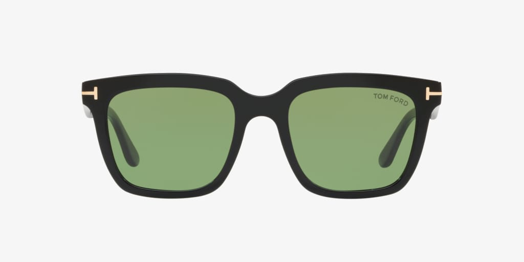 Tom Ford FT0646 53 Shiny Black Sunglasses