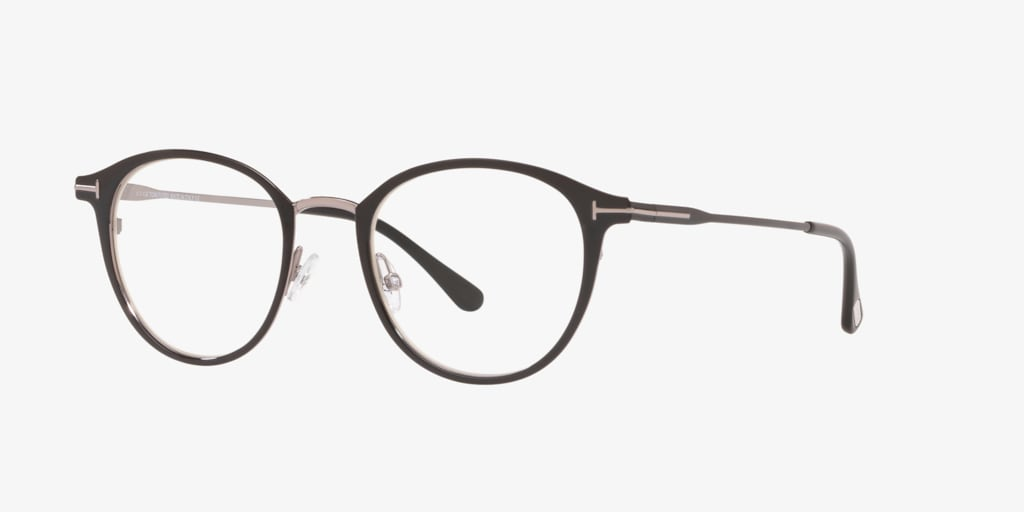 Tom Ford FT5528-B Shiny Black Eyeglasses