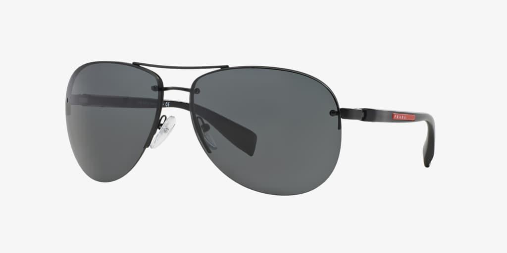 Prada Linea Rossa PS 56MS 62 Black Sunglasses