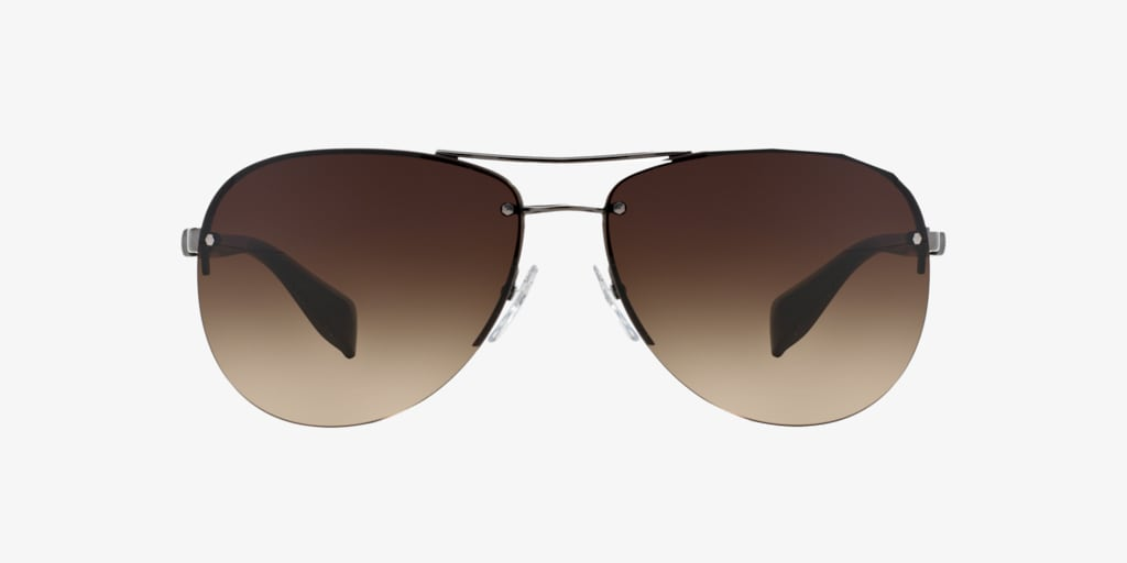 Prada Linea Rossa PS 56MS 62 Gunmetal Sunglasses