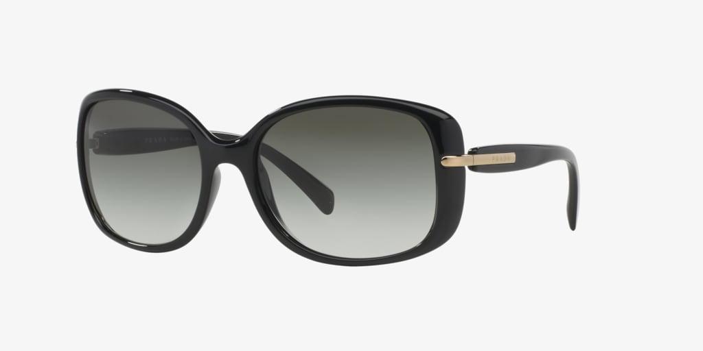 Prada PR 08OS Black Sunglasses