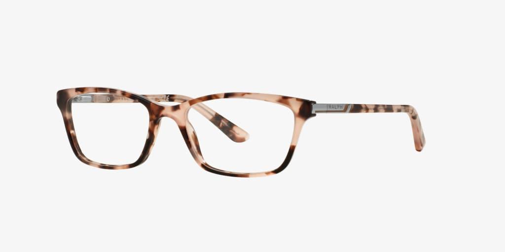Ralph RA7044 Shiny Light Pink Tortoise Eyeglasses