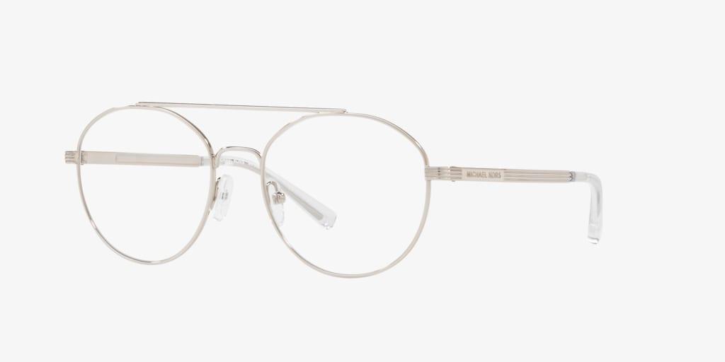 Michael Kors MK3024 ST. BARTS Silver Eyeglasses