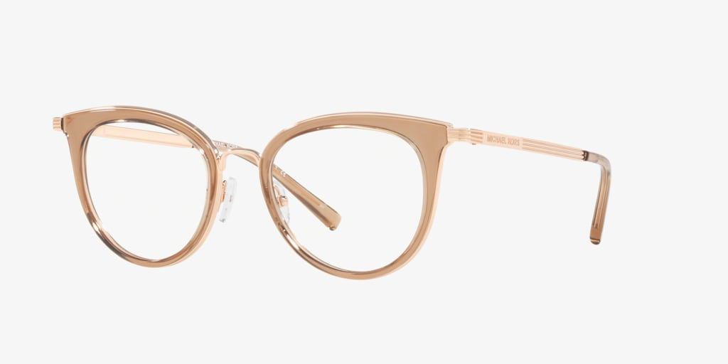Michael Kors MK3026 ARUBA Rose Gold Eyeglasses