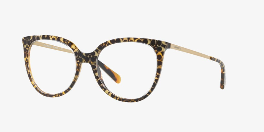Coach HC6125 Tortoise Eyeglasses