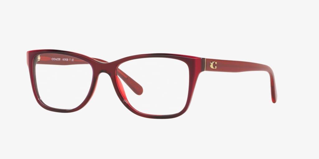 Coach HC6129 Burgundy Eyeglasses