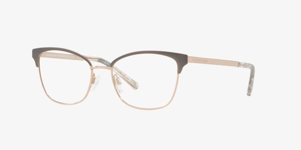 Michael Kors MK3012 ADRIANNA IV Matte Gunmetal/Rose Gold Eyeglasses