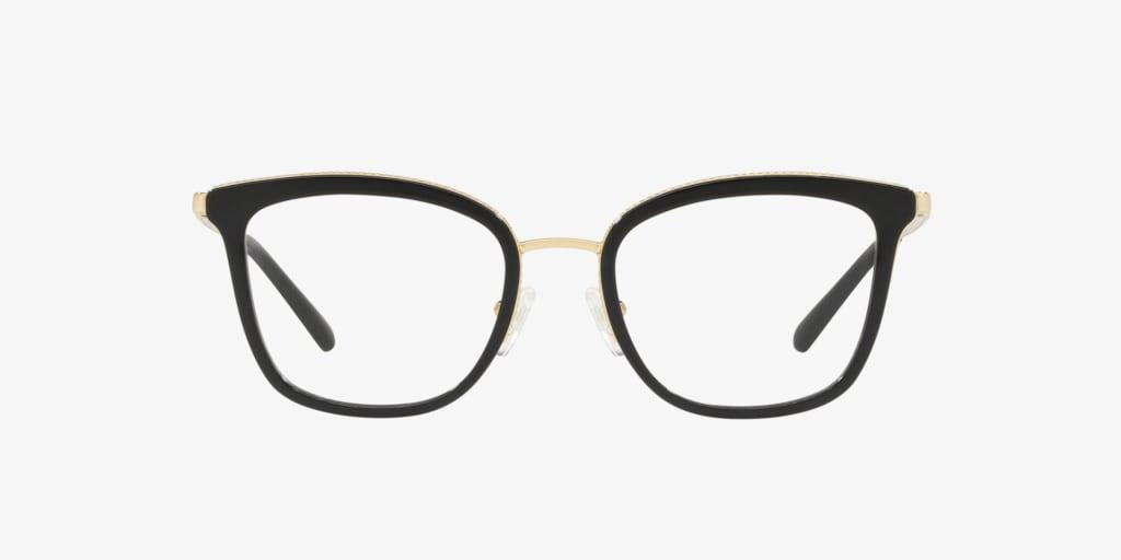 Michael Kors MK3032 COCONUT GROVE Light Gold/Black Eyeglasses