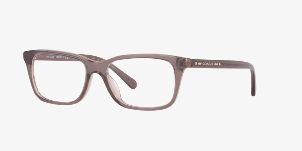 Coach HC6136U Transparent Glitter Grey Eyeglasses