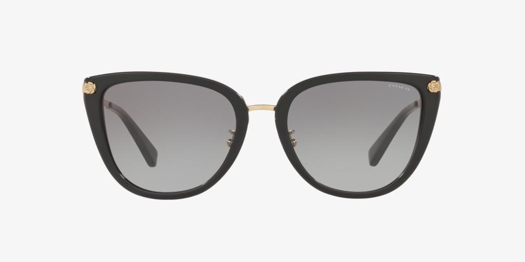 Coach HC8276 56 L1099 Black Sunglasses