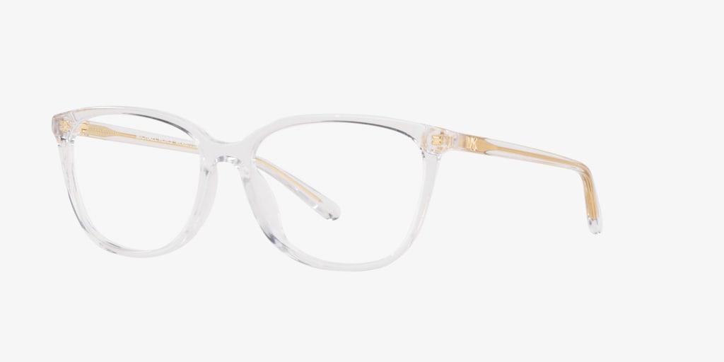 Michael Kors MK4067U SANTA CLARA Clear Eyeglasses