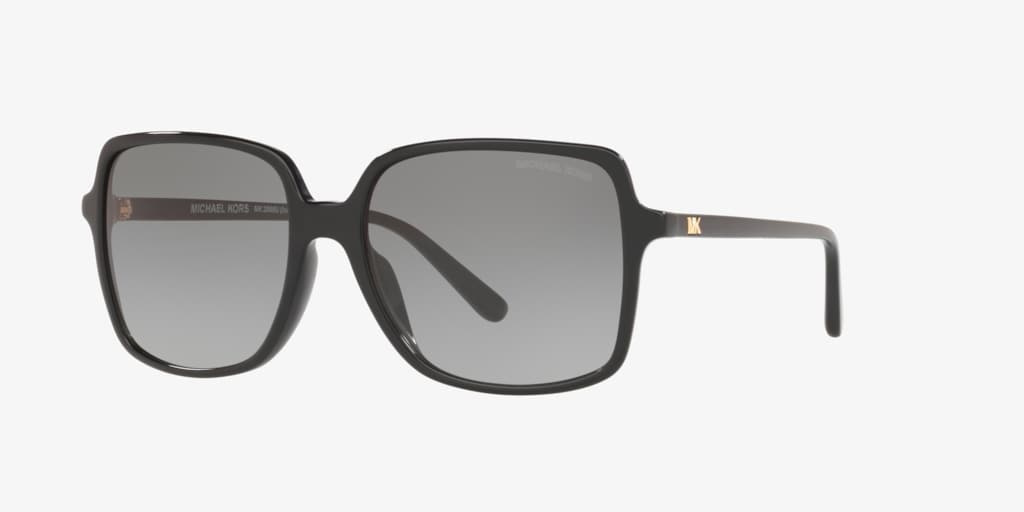 Michael Kors MK2098U 56 ISLE OF PALMS Black Sunglasses
