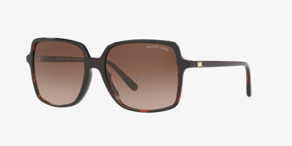Michael Kors MK2098U 56 ISLE OF PALMS Dark Tortoise Sunglasses